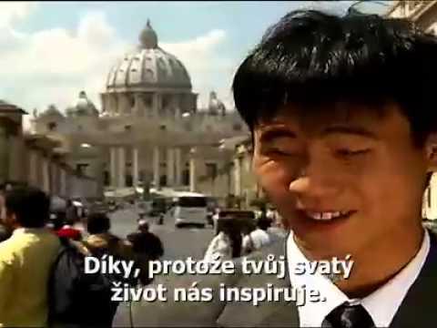 Děkujeme! Pocta papeži od účastníků UNIV
