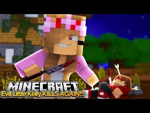 Minecraft - Evil Little Kelly KILLS AGAIN!!! #98