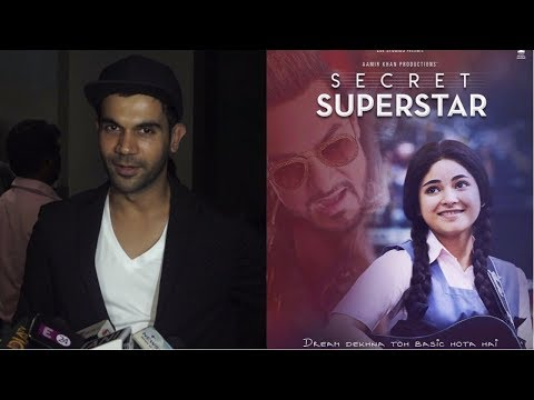 Rajkummar Rao  At Special Screening Of Film Secret Superstar