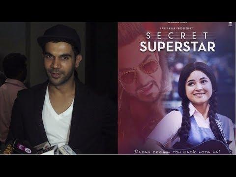 Rajkummar Rao  At Special Screening Of Film Secret Superstar
