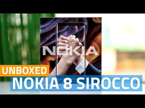 Nokia 8 Sirocco Unboxing | Price, Launch Details, Specs, and More