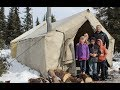 Winter Camping, Taking the Family (2018)