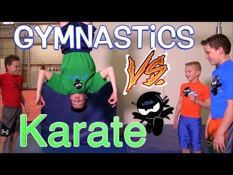 Karate Kid vs Gymnastics Kid Challenge - You Decide The Winner