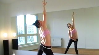 Bellydance FLEXIBILITY WARM-UP (pt2) ALL JOINTS - with Coco - YouTube