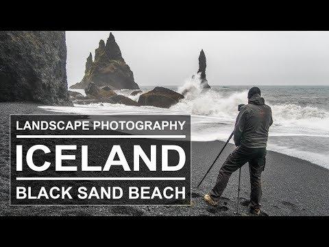 Black and White Landscape Photography | Iceland | Reynisdrangar