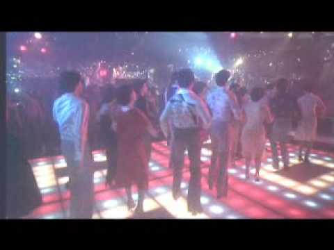 Saturday Night Fever - The famous line dance in Saturday Night Fever to the song