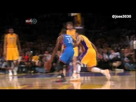 Thunder get the last word against the Lakers, 102-93