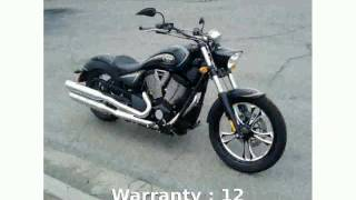 10. 2011 Victory Vegas Base -  Specification Specs Transmission Info Details Top Speed Features