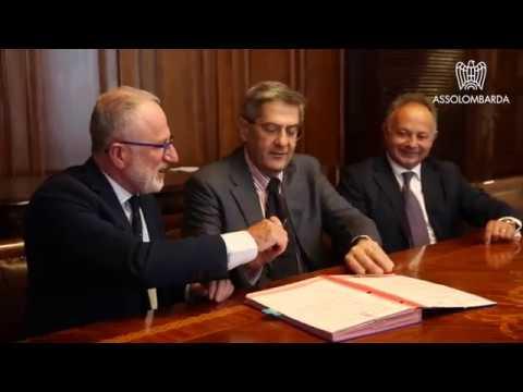 Firmato il protocollo d'intesa tra Assolombarda e Comune in materia di fiscalità locale