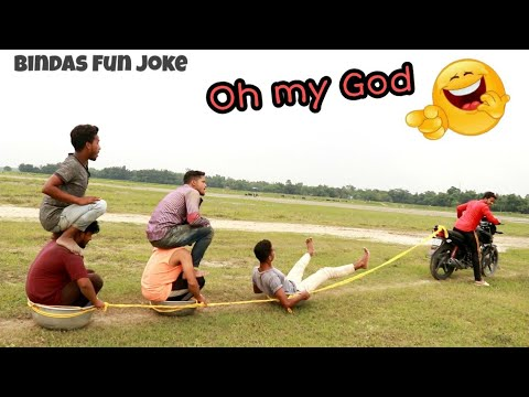 Bindas Fun Joke | New Comedy Continue Funny video | try to not laugh challeng