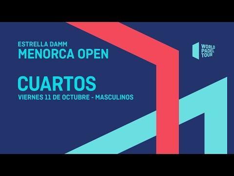 Cuartos de final masculinos - Estrella Damm Menorca Open 2019 - World Padel Tour