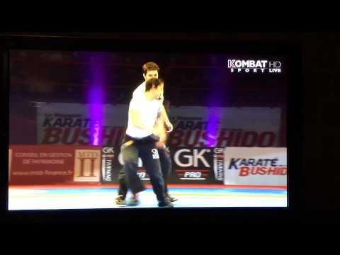 Krav Maga FEKM – Richard Douieb – Festival des arts martiaux Bercy Février 2014