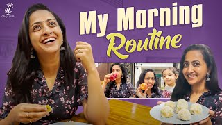 Lasya Talks || My Morning Routine || healthy diet || Lasya's latest video ||