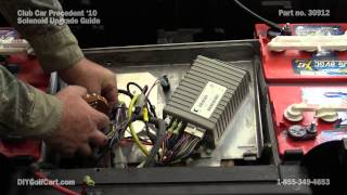 10. Club Car Precedent Heavy Duty Solenoid Upgrade | How to Install on Golf Cart