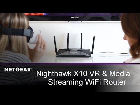 Nighthawk X10 Streaming Router from NETGEAR