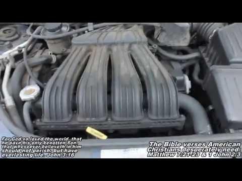 """Oil Change """"How to"""" 01-05 Chrysler Pt Cruiser"""