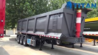 60T Semi Tipper Trailer for Sale youtube video