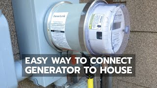 8. BACKUP POWER: Easiest Way to Connect Generator to House