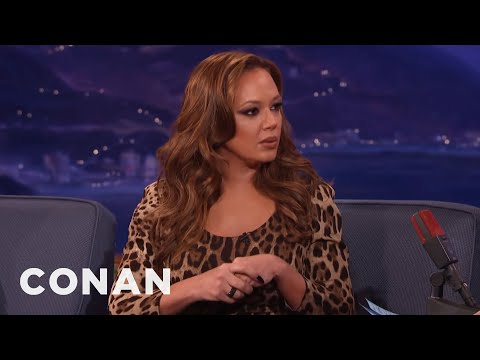 Leah Remini interview on Conan talks about