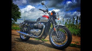 7. What's the difference between the Triumph Bonneville T120 and the T100?