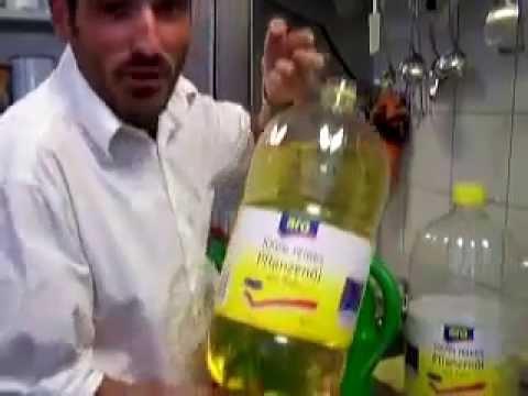 olio di semi come carburante!