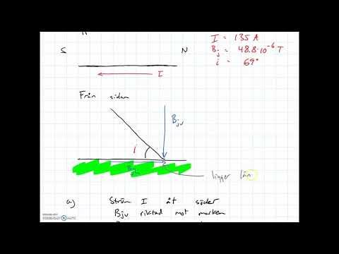 Fy2 Magnetism - Jordmagnetiska fältet