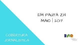 Cliente: Curso de Jornalismo Objetivo: Cobertura do EM PAUTA ZH Imagens: Gustavo Marques Reportagem, edição de texto e...