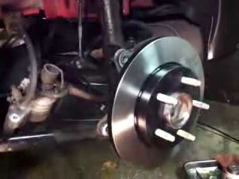 Rear Brakes Pads And Rotor – 2007 Pontiac Grand Prix