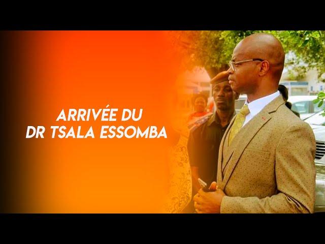 Arrivée du Dr Tsala Essomba au Temple des Nations à yaounde