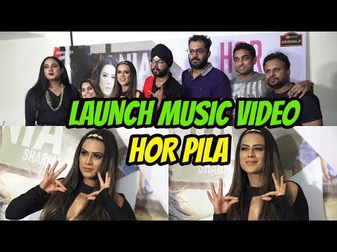 Launch Of New Music Video Hor Pila Ft With Nia Sharma