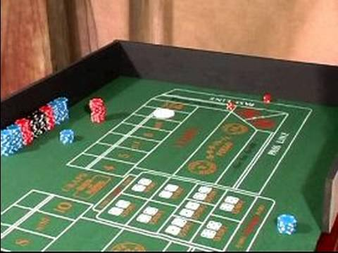 How to Play Craps : How to Roll Dice in Craps