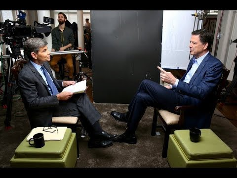 CNN Panel discussion on ABC News George Stephanopoulos with James Comey former FBI pt 3