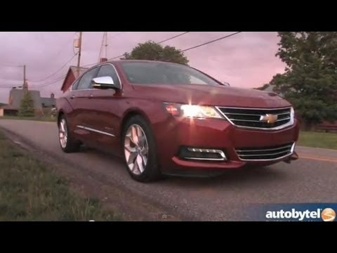 2014 Chevrolet Impala Full Size Sedan Video Review
