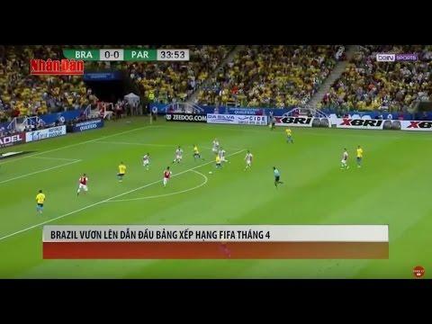 Tin Thể Thao 24h Hôm Nay (7h- 7/4): Đoạt Vé Dự VCK World Cup - Brazil Vượt Lên Số 1 BXH FIFA Tháng 4 - Thời lượng: 4:57.