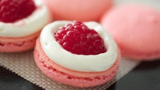 Rose Water Macarons - YouTube