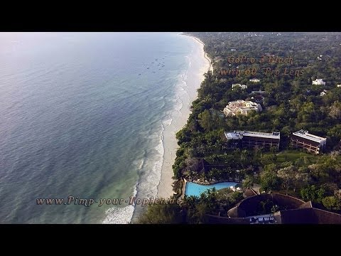 Diani Beach Drone Video