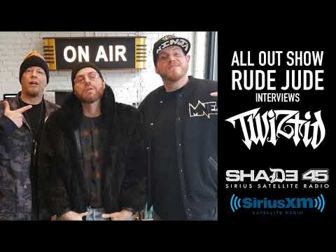 Twiztid's interview with Rude Jude on The All Out Show on Shade45 (SiriusXM)