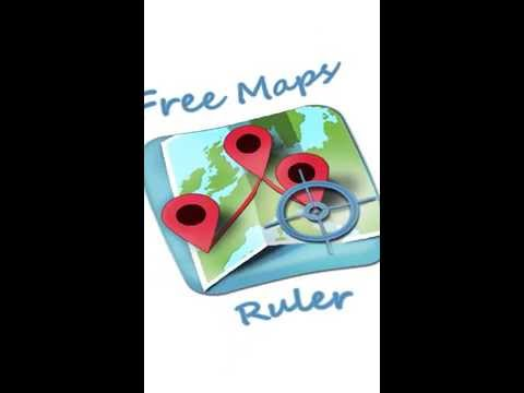 Video of Free Maps Ruler