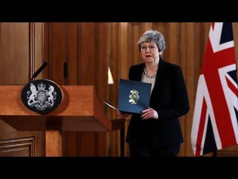 Brexit: Νέο αίτημα Μέι προς τις Βρυξέλλες για παράταση