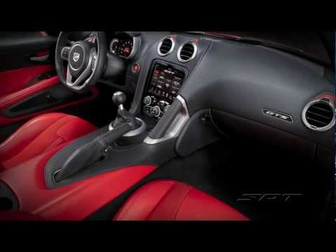 Interior Design of the 2013 SRT Viper