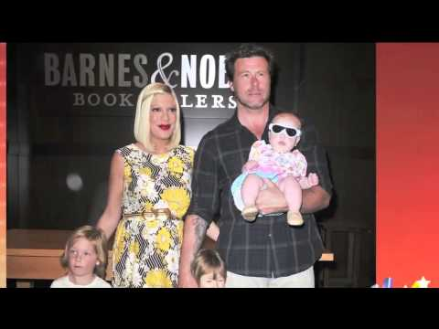 E! News Now Tori Spelling and Baby Finn