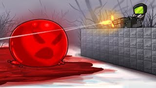 Minecraft - RED POOL BUBBLE MONSTER! (SCP CONTAINMENT BREACH)