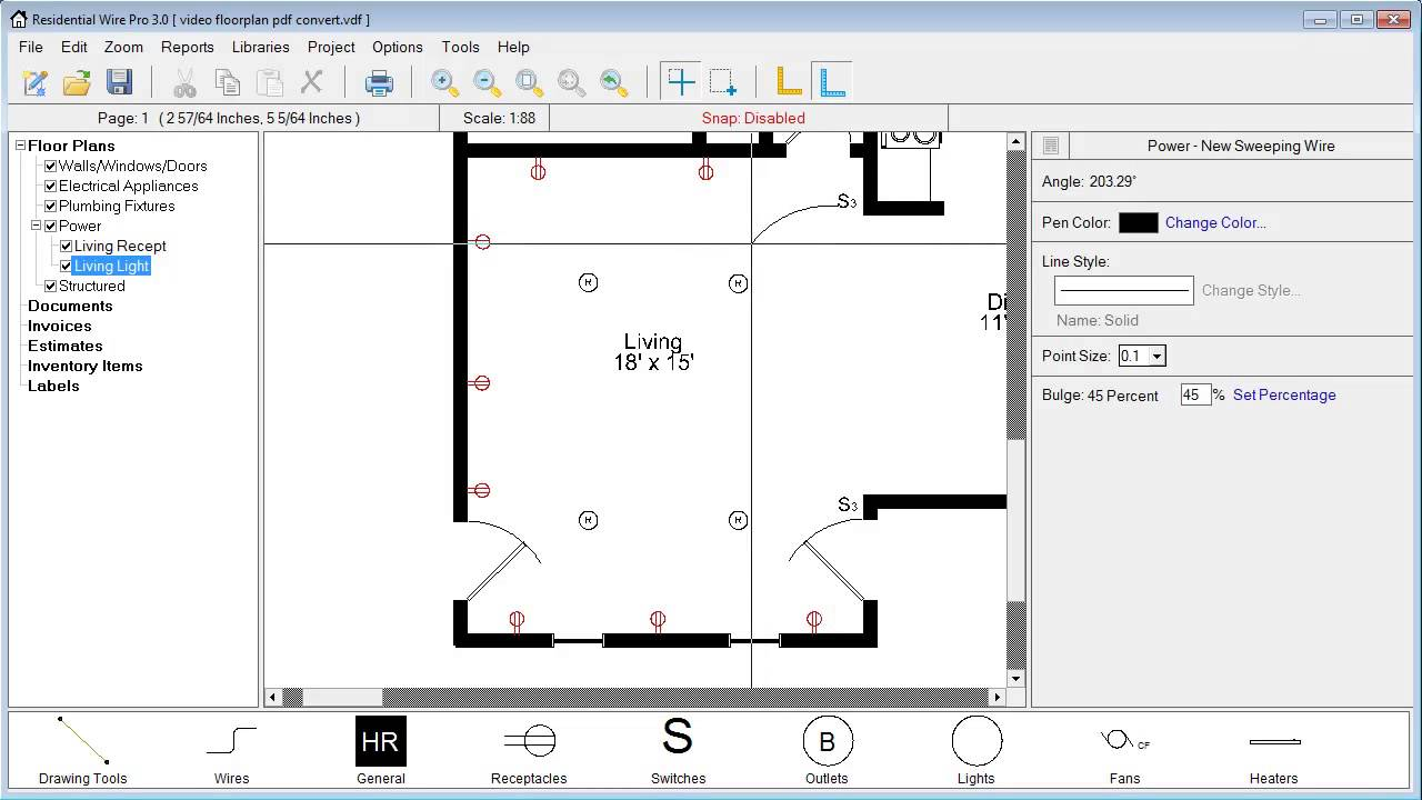 Residential Wire Pro Learning Center - Electrical drawing pdf file