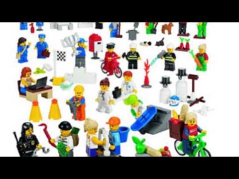 Video Newest YouTube of the Community Minifigures Set 779348