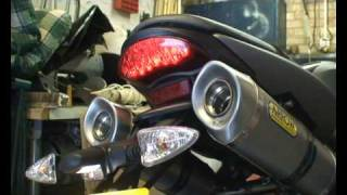 6. triumph street triple r arrow exhaust comparison
