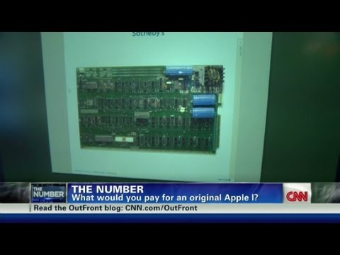Auctioning the mother of all apple computers