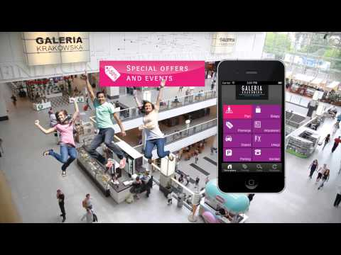 Video of Galeria Krakowska - mobile app