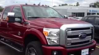 New vs Used | Ford F-350 Diesel Platinum 4x4 Crew Cab | Pickups For Sale