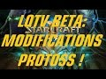 Legacy of the Void BETA: Modifications Protoss