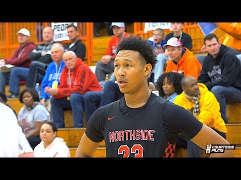 6'10 With Guard Skills! Arkansas Commit Jaylin Williams Tournament of Champions Highlights!